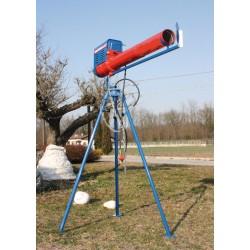 Cavalletto rotante per Cannone Scaccia Uccelli